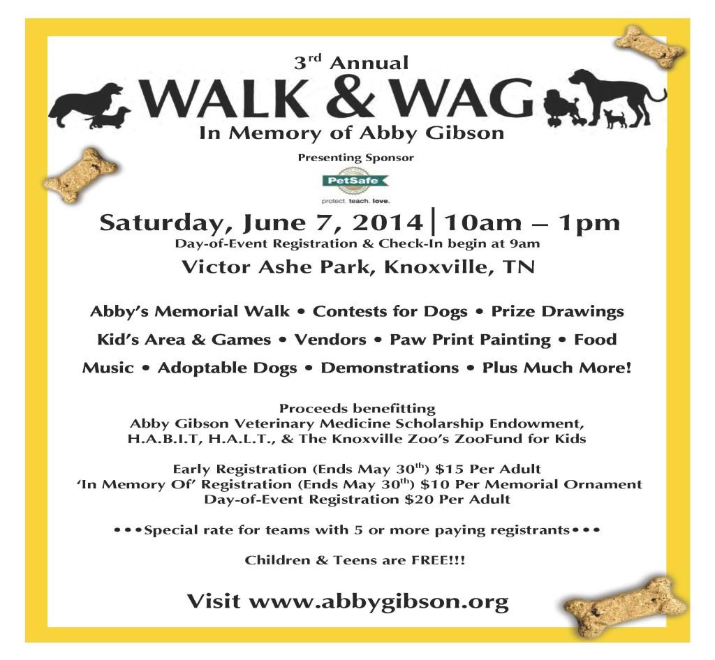 Walk & Wag 2014